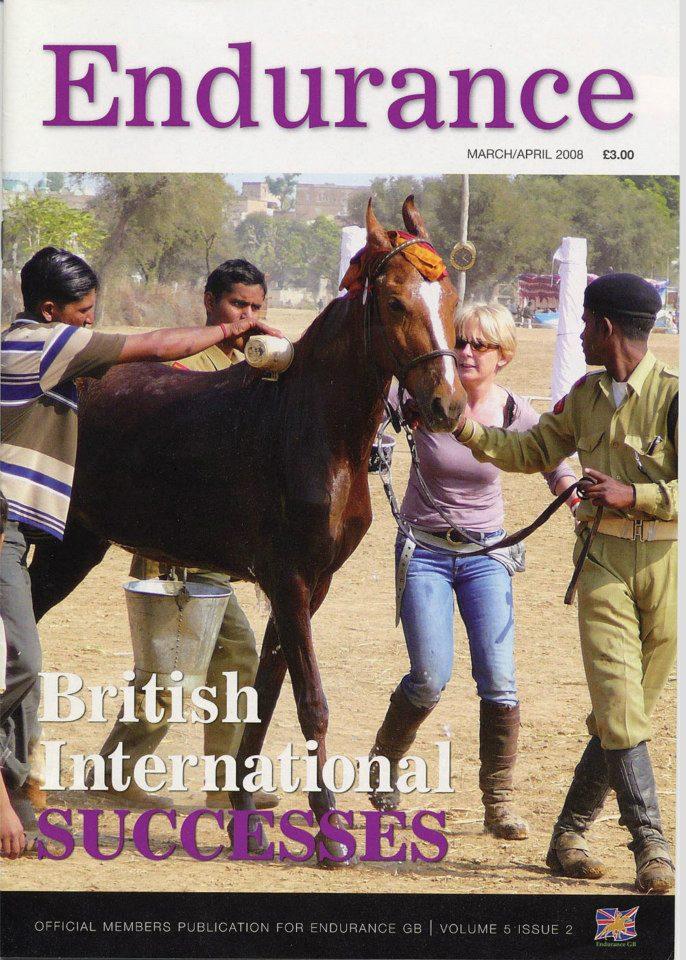 Endurance GB magazine front 2008