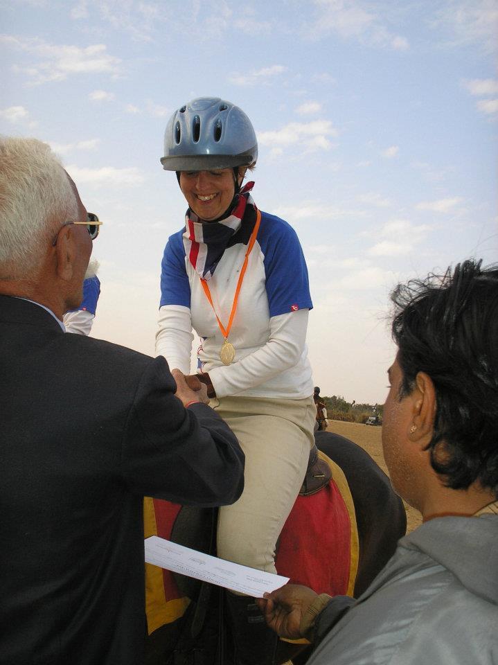 Receiving Team Gold 50km