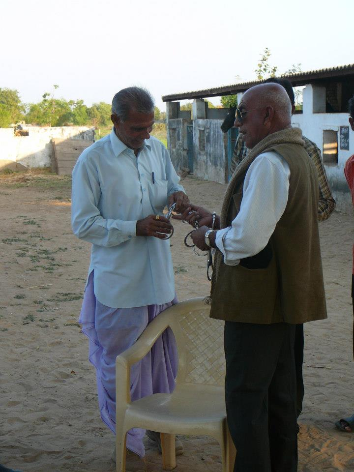 Giving in village