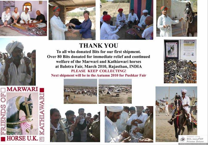 Balotra 2010 Thanks