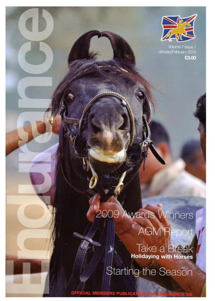 Endurance GB magazine cover 2009