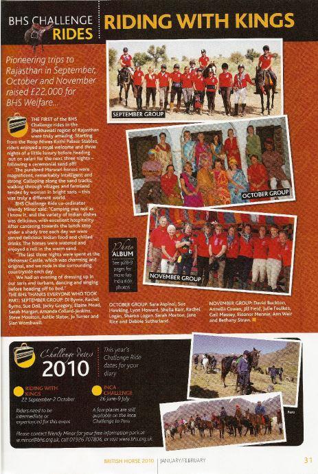 British Horse Society 2010