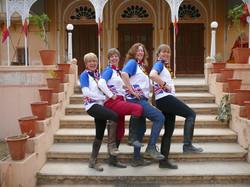 Team GB at our 1st event in 2008 !