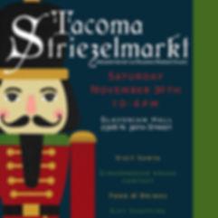 La Paloma Marketplace Tacoma Striezel markt 3rd Holiday Event 2019