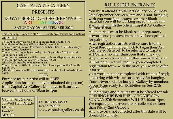 greenwich art challenge 2020 double redo