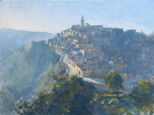 Matera, Italy  Early Morning