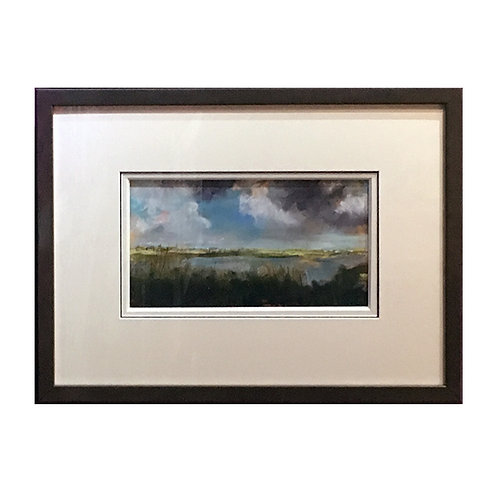 Rainham Marshes, Storm Clouds (SOLD)