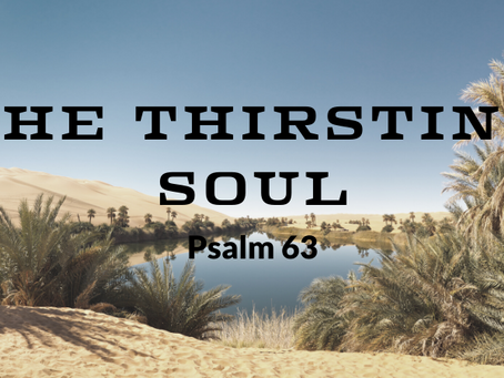 The Thirsting Soul