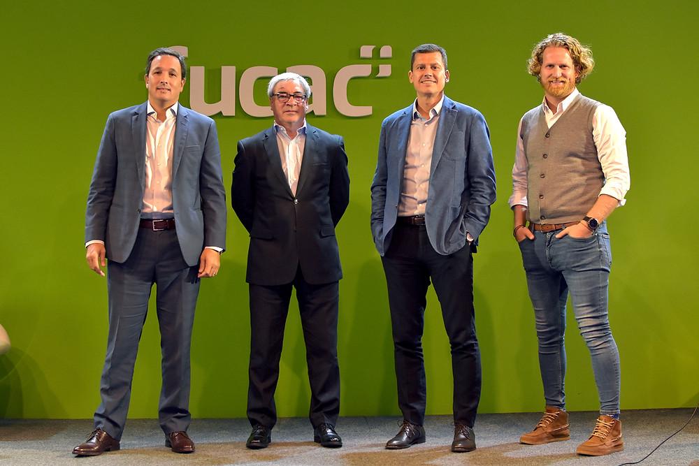 Felipe Cat, Alfredo Minchili, Jordi Carrión y Stephen Jakter