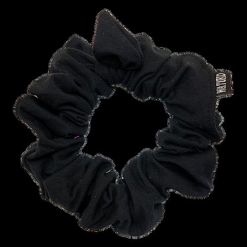 Tie Scrunchie BLACK