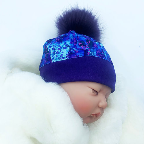 KIDS POM HAT-174