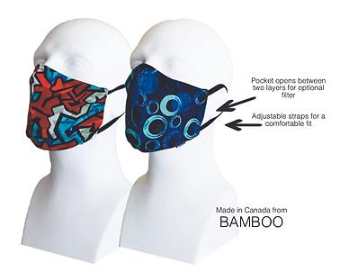 Men's Double Layer Masks (2) Sportsman