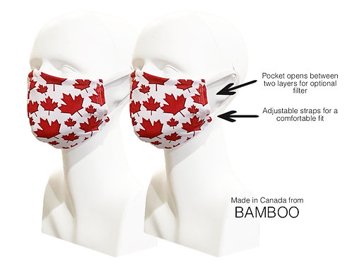 CANADA Women's Double Layer Masks (2)