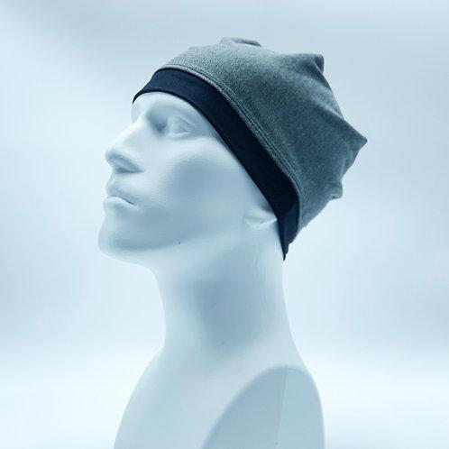 Skull Cap (Beanie)-MENS-GREY