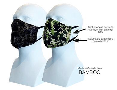 Men's Double Layer Masks (2) Camo