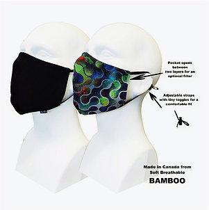 Men's Double Layer Masks (2) Metropolitan