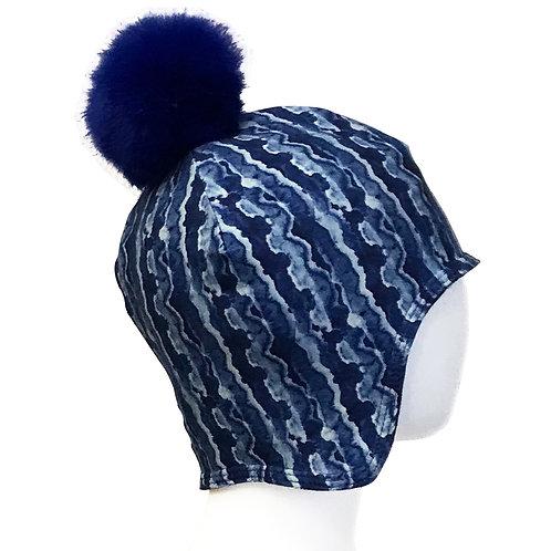 CASTLE BLUE / BABY-TODDLER HAT / Item:165