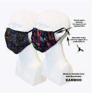 Women's Double Layer Masks (2) Artisan