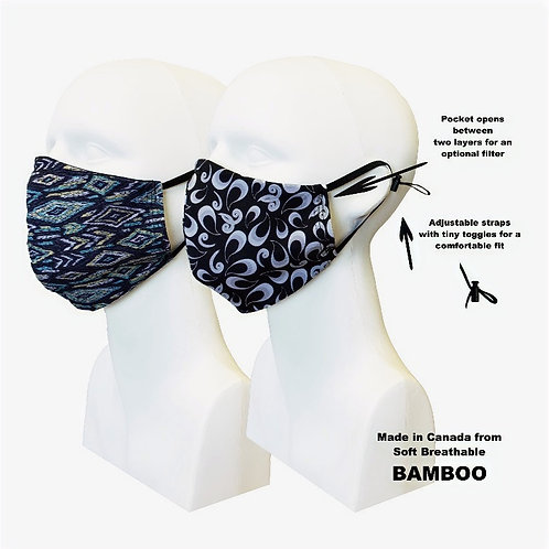 Women's Double Layer Masks (2) Winterfest
