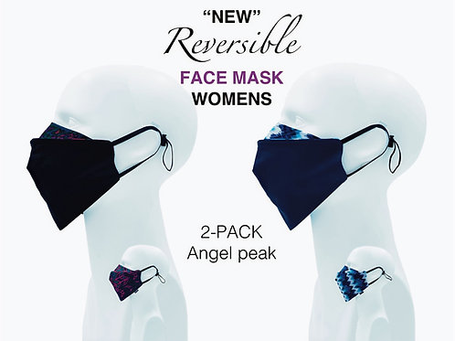 'NEW' Women's Bamboo/Cotton Masks Packed 2 Angel