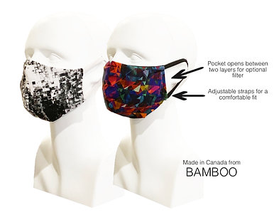 Women's Double Layer Masks (2) Summer Breeze