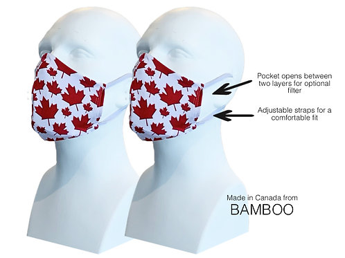 CANADA Men's Double Layer Masks (2)