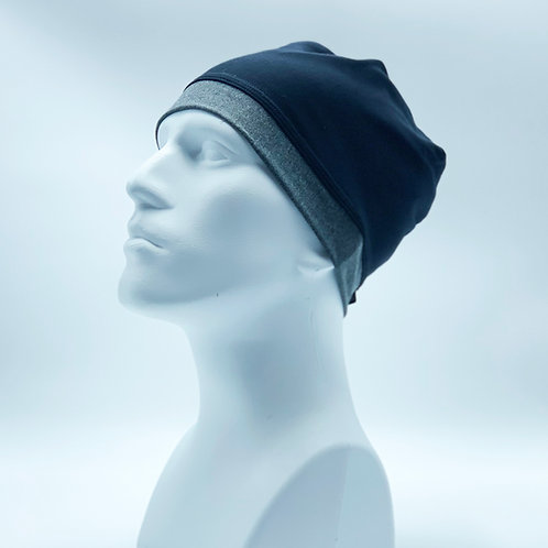 Skull Cap (Beanie)-MENS-BLACK