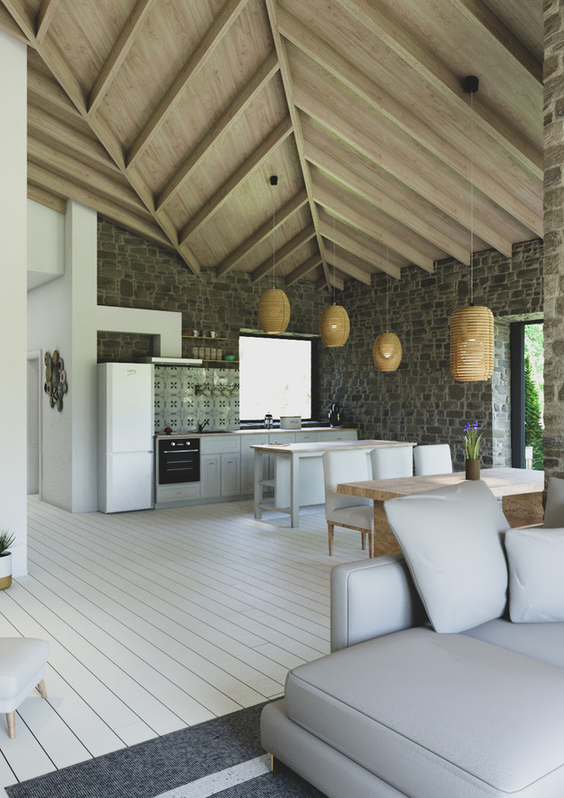 rustic by the sea