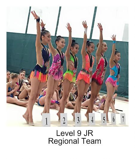 Level 9 Regional Team