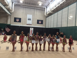 Level 7 Region Team with All Stars
