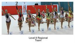 Level 8 Regional Team