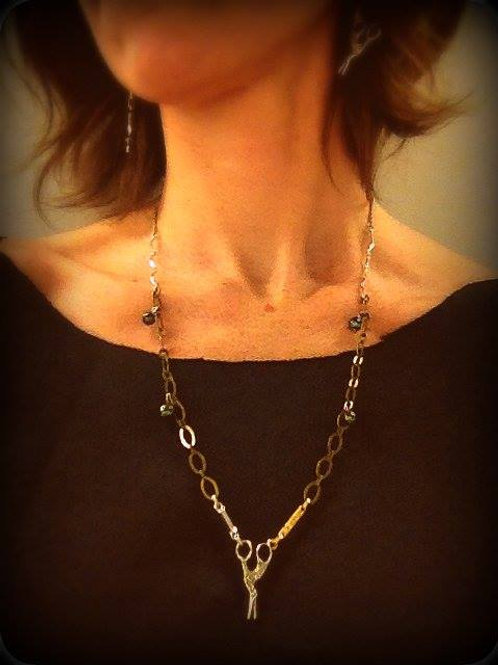 RWS Scissor Necklace