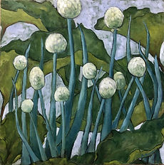 AKustra SpringOnionsandRhubarb Oil on panel - Amy Kustra Barksdale.jpg