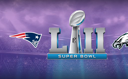 History in The Making Super Bowl LII New England Patriots vs Philadelphia Eagles