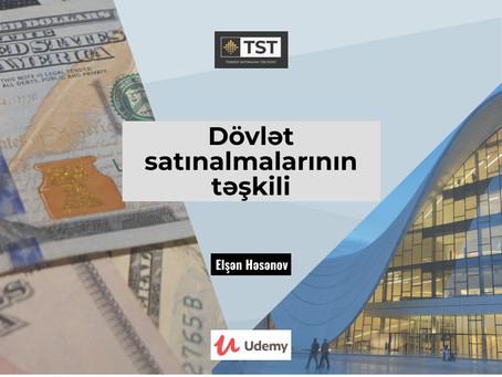 Dövlət satınalmalarının təşkili təlimi