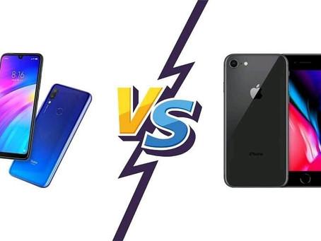 "Xiaomi (""şayomi) yoxsa ""ayfon"" (iPhone)"