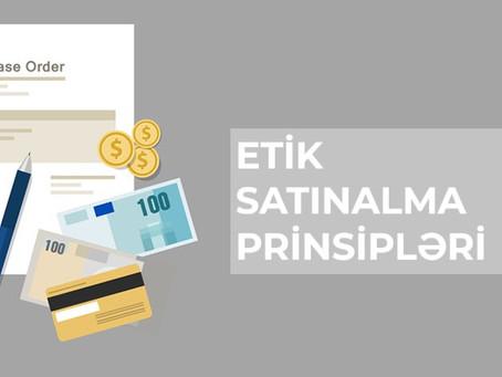 Etik satınalma prinsipləri