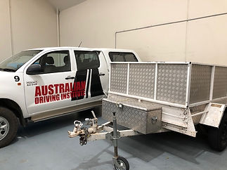 The Australian Driving Institute Trailer towing courses