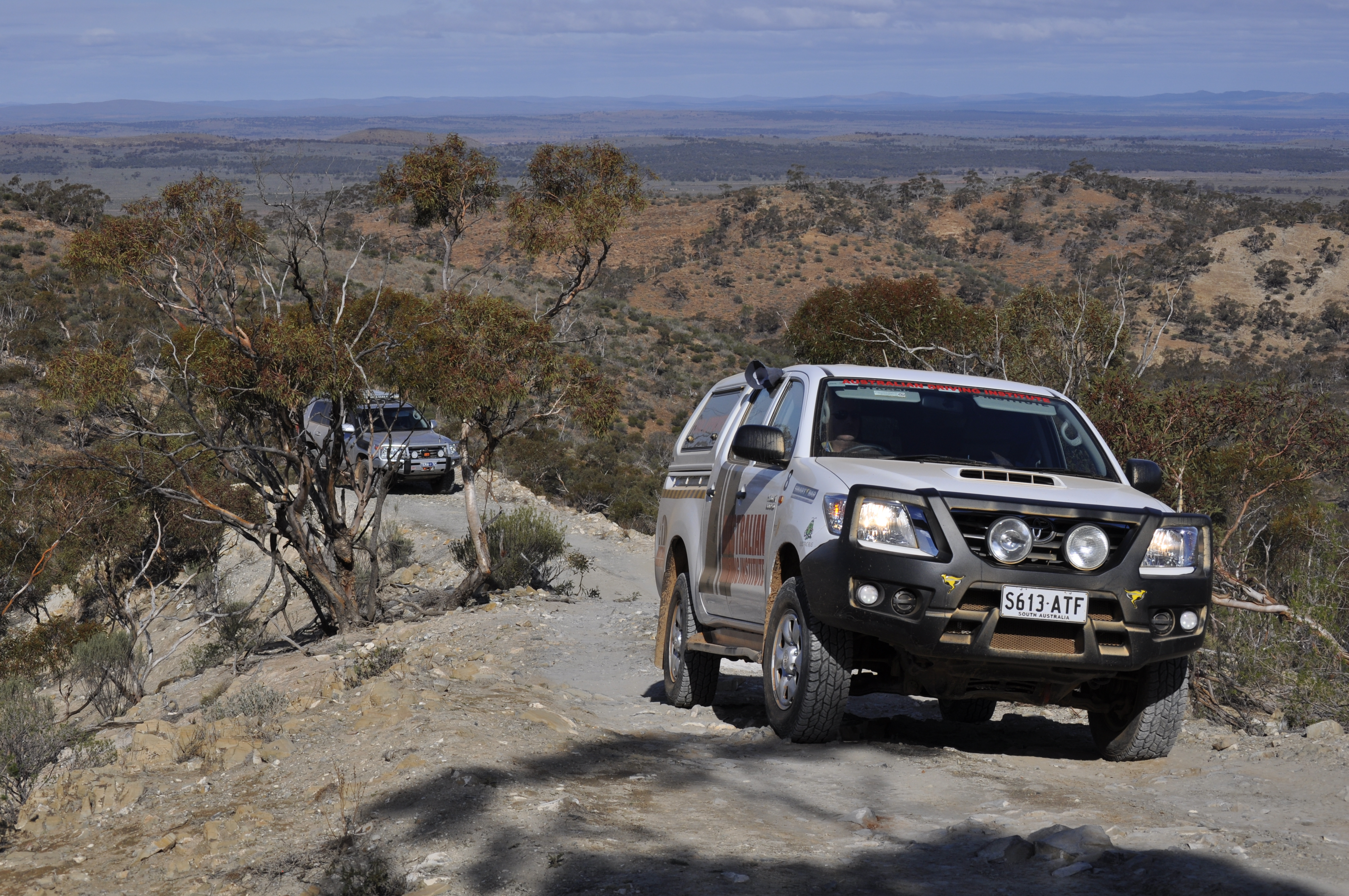 4WD driver training in SA, QLD VIC