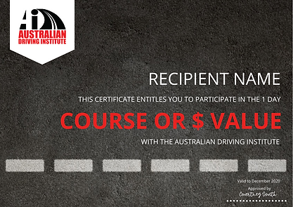 The Australian driving institute GIFT CERTIFICATE.png