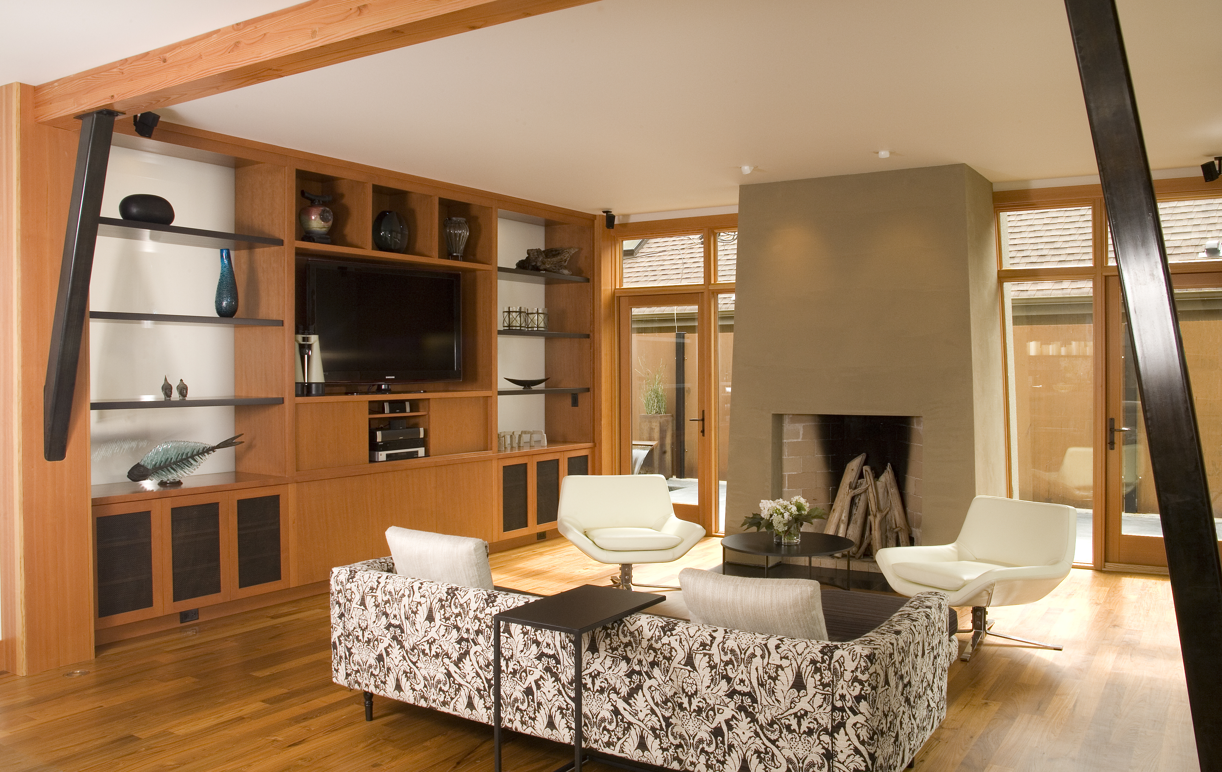 Wing Point Residence Interior