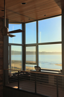 Whidbey Island Beach House Interior