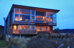 Whidbey Island Beach House Exterior