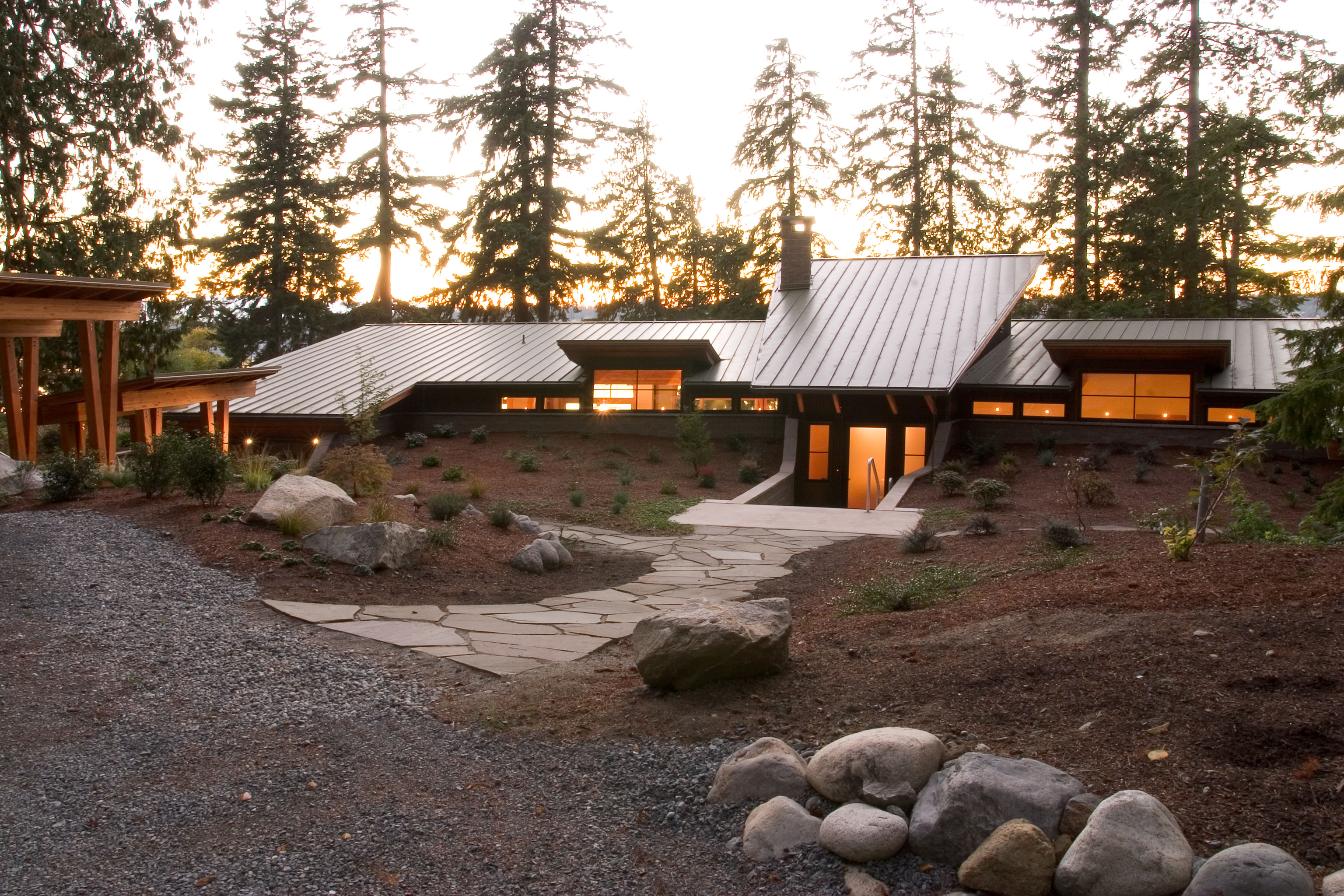 Holmes Harbor Residence Exterior