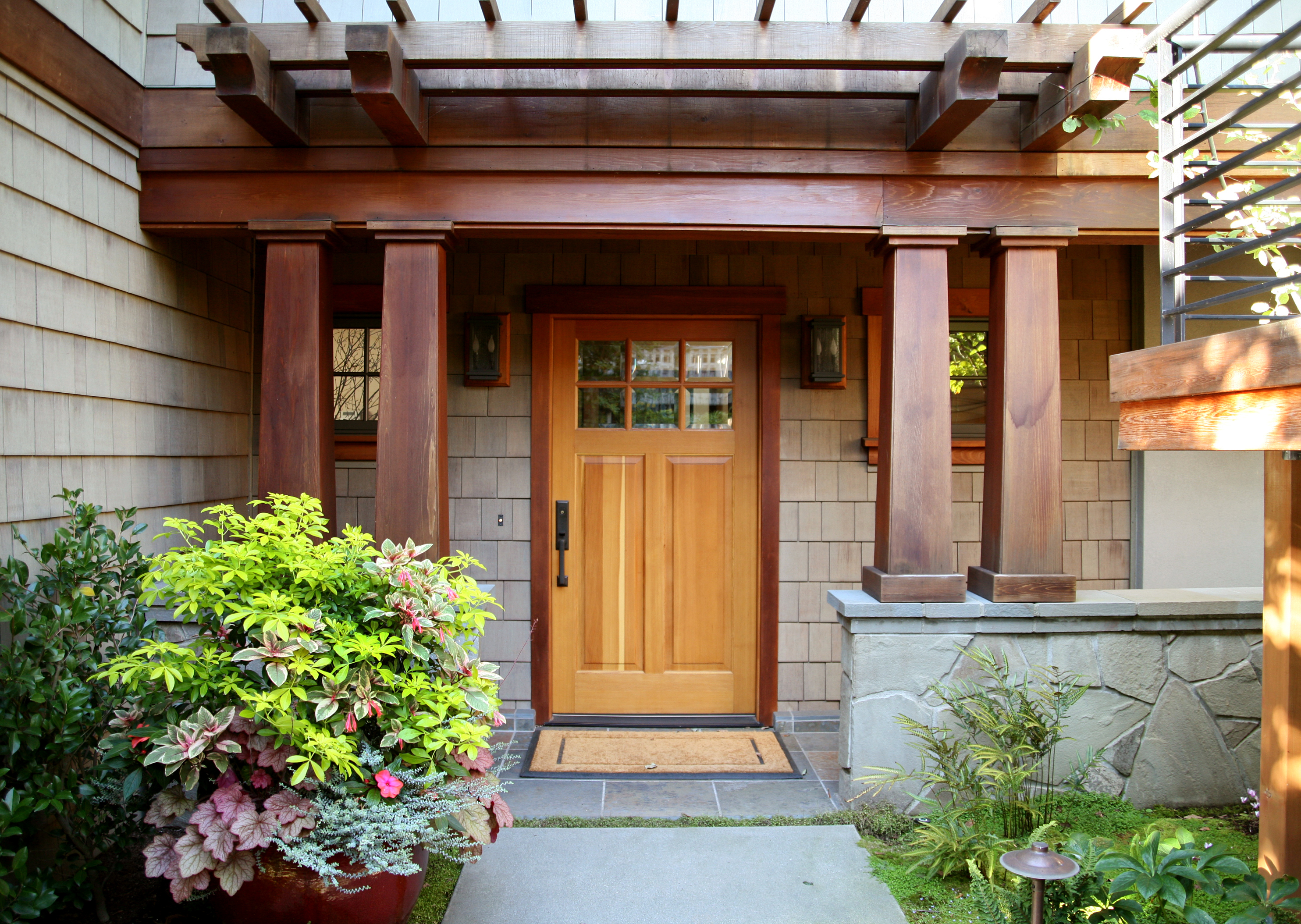 S. Lake Washington Remodel Exterior