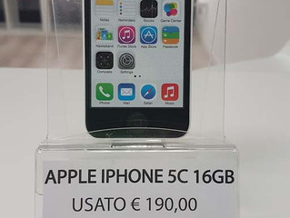IPHONE 5C 16GB USATO A 190,00 €!