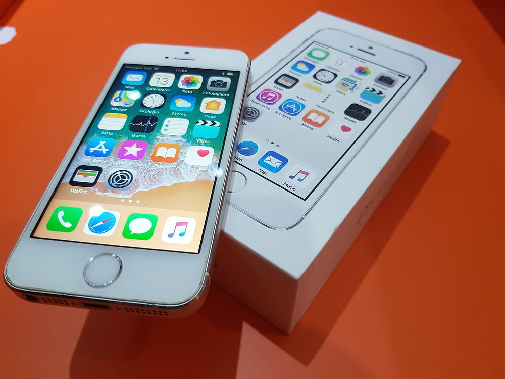 Iphone 5 s usato garantito prezzo 150 €