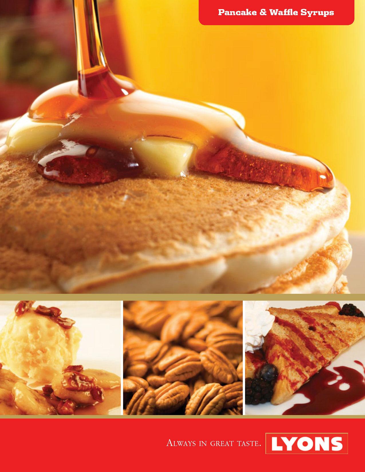 Lyons Pancake & Waffle Syrup