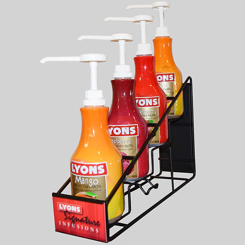 Fruit Infusions Rack - 1 Free Case with purchase