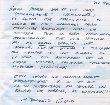 Review Ernesto